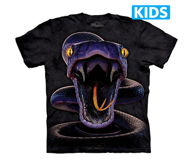 The Mountain - Snake Strike Kids T-Shirt