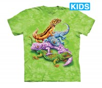 The Mountain - Geckos Kids T-Shirt