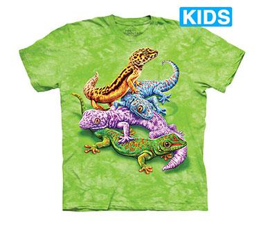 The Mountain - Geckos Kids T-Shirt