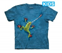 The Mountain - Frog Tongue Kids T-Shirt