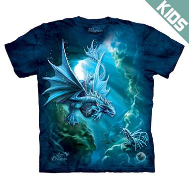The Mountain - Sea Dragon Kids T-Shirt