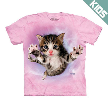 The Mountain - Pounce Chicken Kids T-Shirt