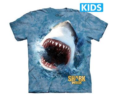 The Mountain - Shark Feed Kids T-Shirt