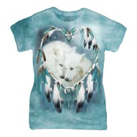 The Mountain - Wolf Heart Women's T-Shirt