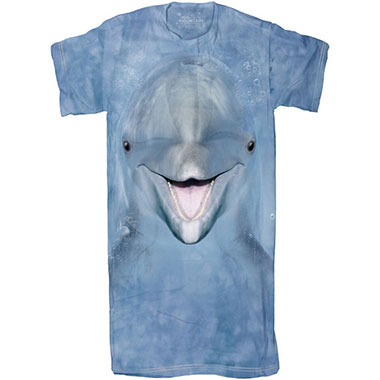 The Mountain - Dolphin Face Sleepy Tee