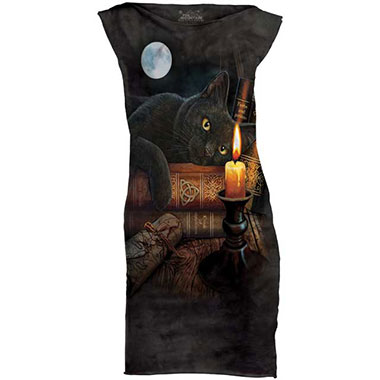 The Mountain - The Witching Hour T-Shirt Mini Dress