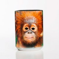 The Mountain - Orangutan Hang Ceramic Mug