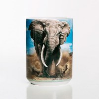 The Mountain - African Elephant Ceramic Mug
