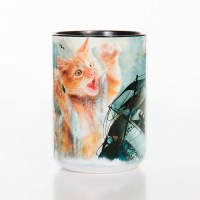 The Mountain - Krakitten Ceramic Mug