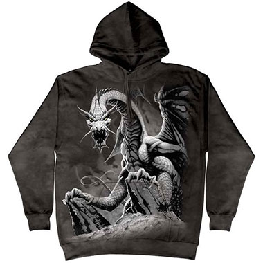 The Mountain - Black Dragon Hoodie