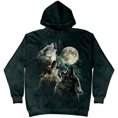 The Mountain - Three Wolf Moon Classic Hoodie