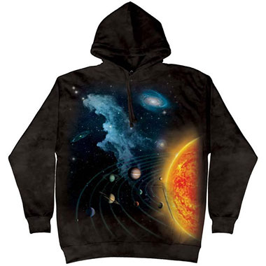 The Mountain - Solar System Hoodie