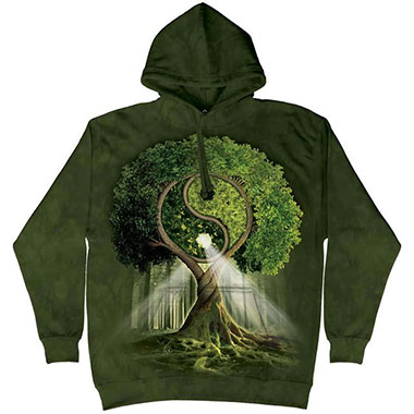 The Mountain - Yin Yang Tree Hoodie