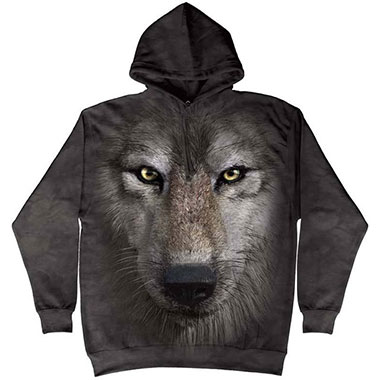 The Mountain - Wolf Face Hoodie
