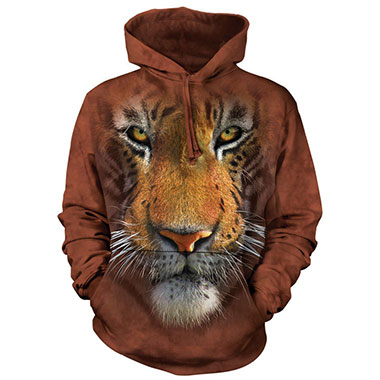The Mountain - Tiger Face Hoodie