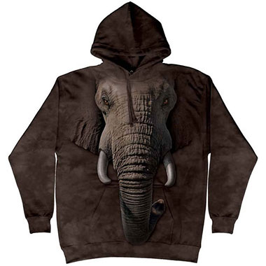 The Mountain - Elephant Face Hoodie