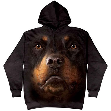 The Mountain - Rottweiler Face Hoodie