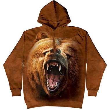 The Mountain - Grizzly Growl Hoodie