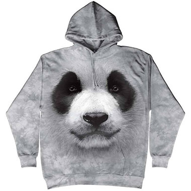 The Mountain - Big Face Panda Hoodie