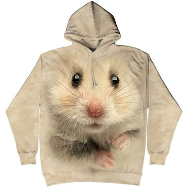 The Mountain - Hamster Face Hoodie