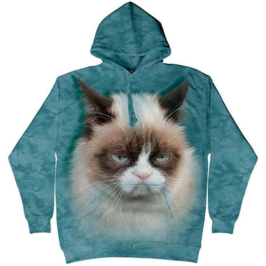 The Mountain - Grumpy Cat Hoodie