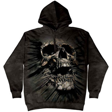 The Mountain - Breakthrough Skull Hoodie
