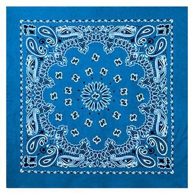 Rothco - Large Trainmen Bandanas 27 Inch - Royal Blue