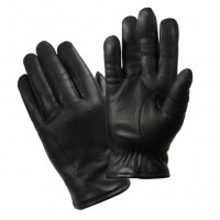 Rothco - Cold Weather Leather Police Gloves - Black