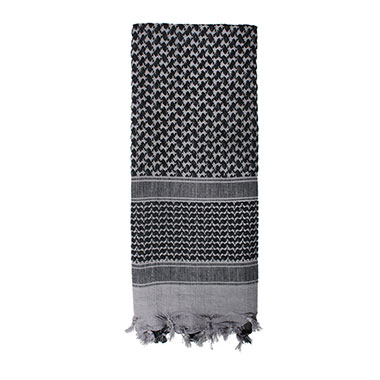 Rothco - Lightweight Shemagh Tactical Desert Scarves - Grey