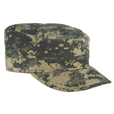 Rothco - Gov't Spec 2 Ply Poly/Cotton Rip-Stop Army Ranger Fatigue Cap - ACU Digital