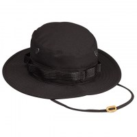 Rothco - 100% Cotton Rip-Stop Boonie Hat - Black