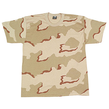 Rothco - Kids Camo T-Shirts - Tri-Color Desert Camo