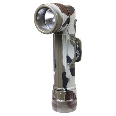 Rothco - Genuine G.I. Anglehead Flashlight - Woodland