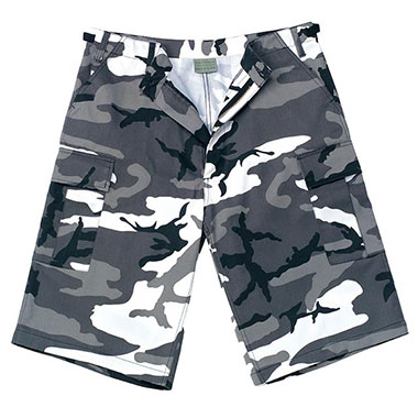 Rothco - Long Length BDU Short - City Camo
