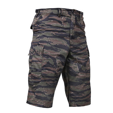 Rothco - Long Length Camo BDU Shorts - Tiger Stripe