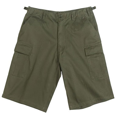 Rothco - Long Length BDU Short - OD