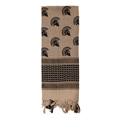 Rothco - Spartan Shemagh Tactical Desert Scarf - Tan