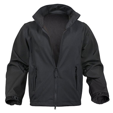 Rothco - Soft Shell Uniform Jacket - Black