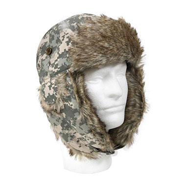 Rothco - Fur Flyer's Hat - Acu Digital Camo