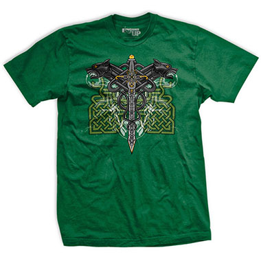 Ranger Up - Celtic Warrior Athletic-Fit  T-Shirt