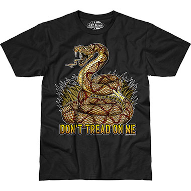 7.62 Design - Don't Tread On Me - Black