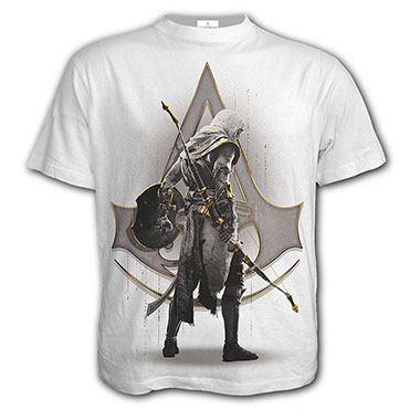 Spiral Direct - ORIGINS - BAYEK WHITE - T-Shirt White
