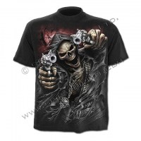 Spiral Direct - ASSASSIN - T-Shirt Black
