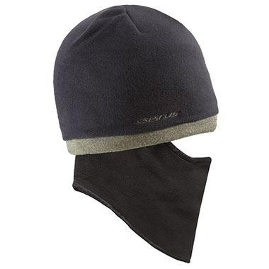 Seirus - Quick Clava® Fleece Knit - Black/Olive