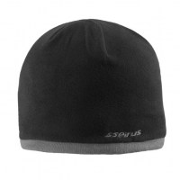 Seirus - Fleece Knit Hat - Black/Charcoal Edge