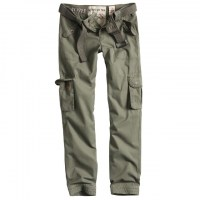 Surplus - Ladies Premium Trousers Slimmy - Olive Washed