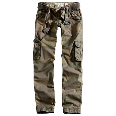 Surplus - Ladies Premium Trousers Slimmy - Woodland Washed