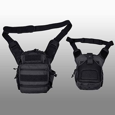 TEXAR - Tactical bag - Black