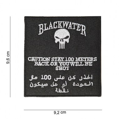101 inc - Patch black water 100 mtr.