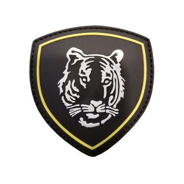 101 inc - Patch 3D PVC Russian Tiger black